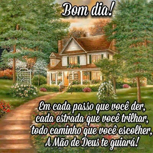 Bom dia guiado por Deus