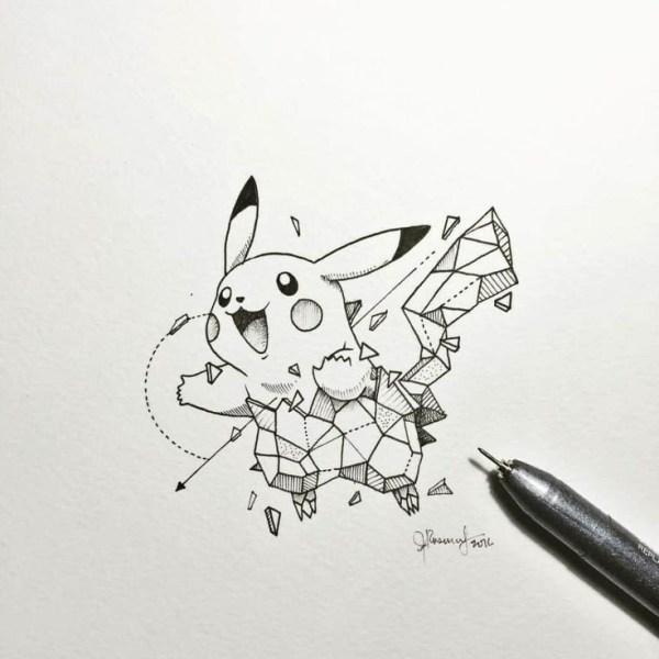 rabisco do Pokémon