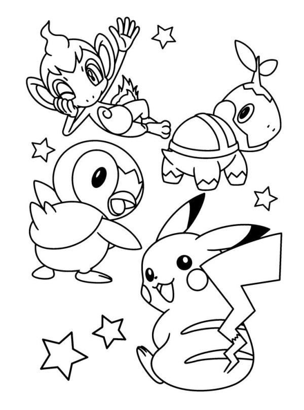 seus personagem de Pokémon