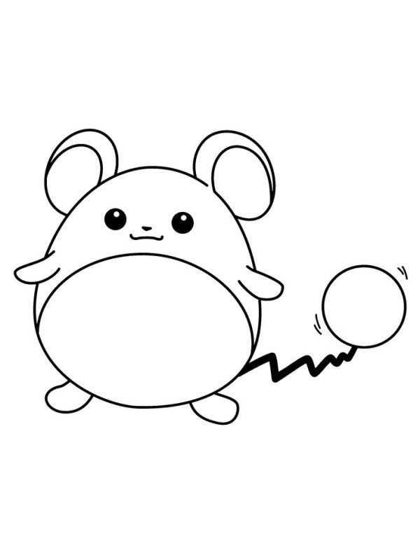 Pokémon ratinho do show
