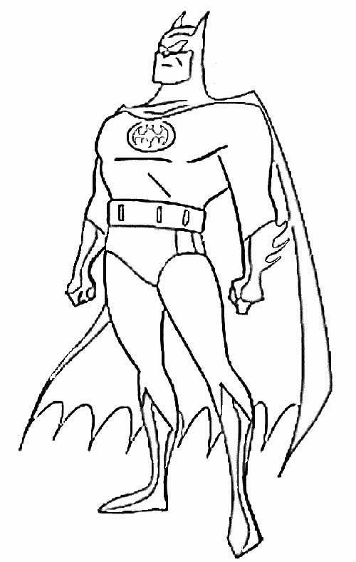 Desenhos de super heróis para imprimir