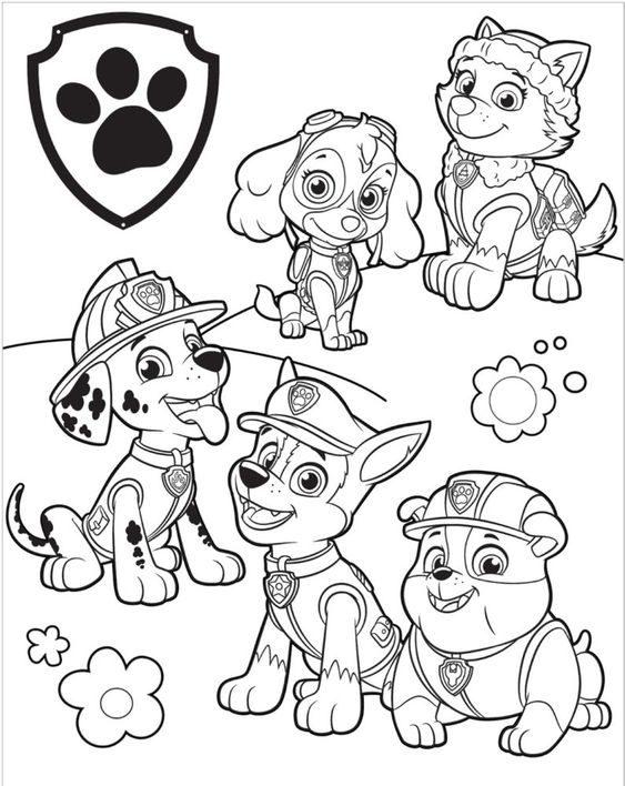 equipe Desenhos da Patrulha Canina