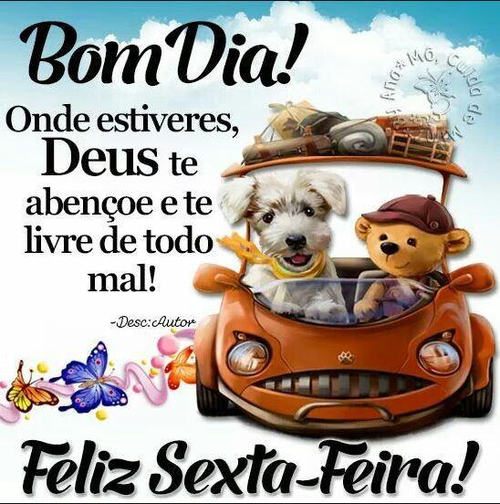Bom dia com Deus feliz Sexta-feira
