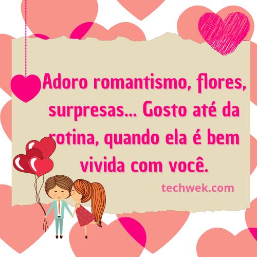 frases romanticas para pessoa amada