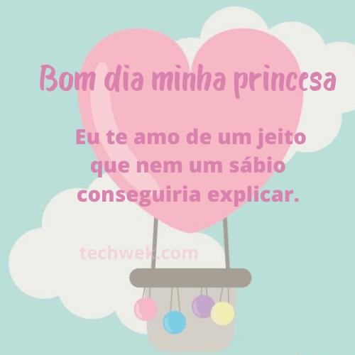 plavras de bom dia para princesa