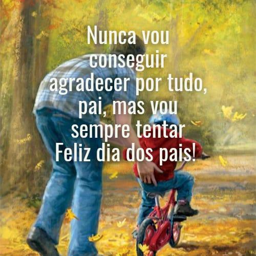 Mensagem especial e divertida para celebrar o dia dos homens da nossa vida os pais
