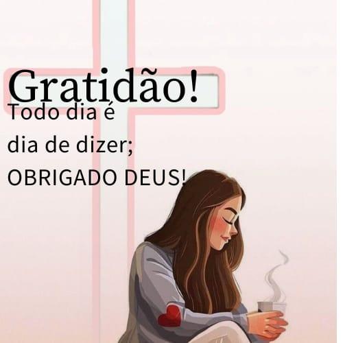 Frase para agradecer a Deus