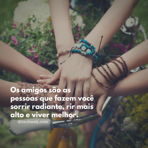 recordaçoes com frases de amizade
