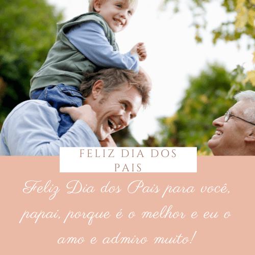 frases dia dos pais feliz
