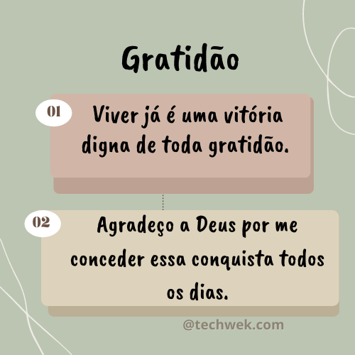 frases com gratidão a Deus