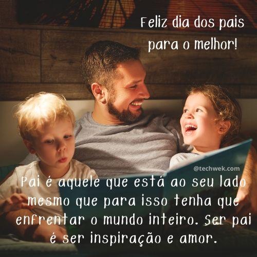 mensagem para retribuir o amor no dia dos pais