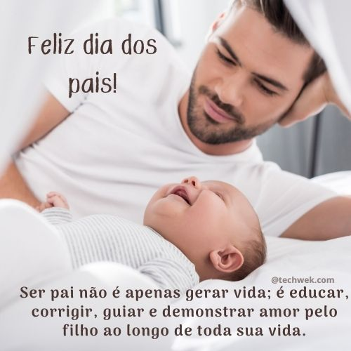 mensagens para retribuir  amor no dia dos pais