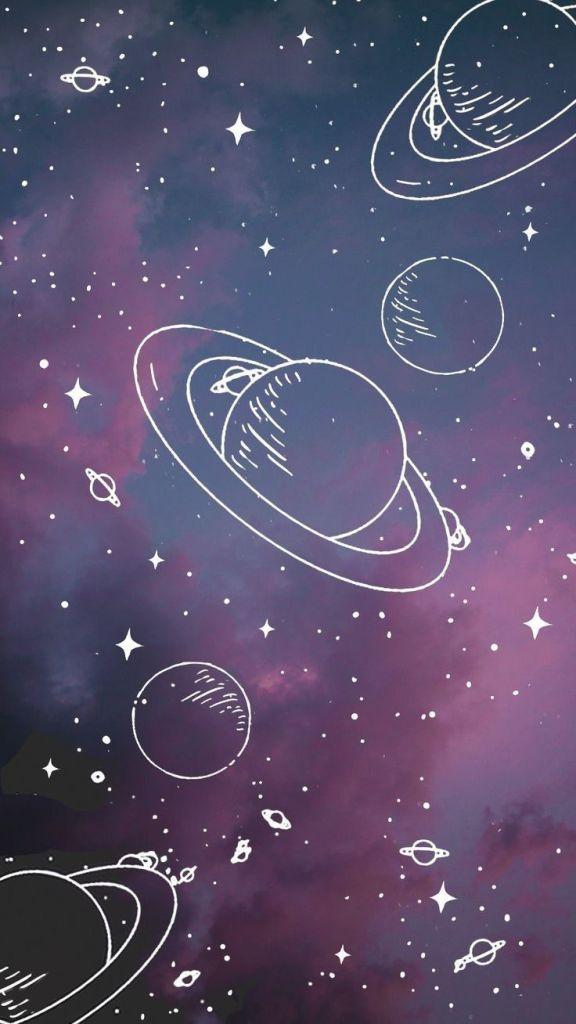 Papel de parede tumblr Galáxias