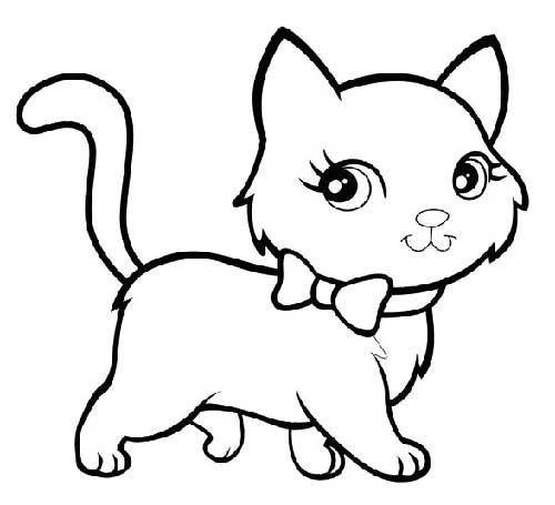 Desenhos de gatos para pintar lindos
