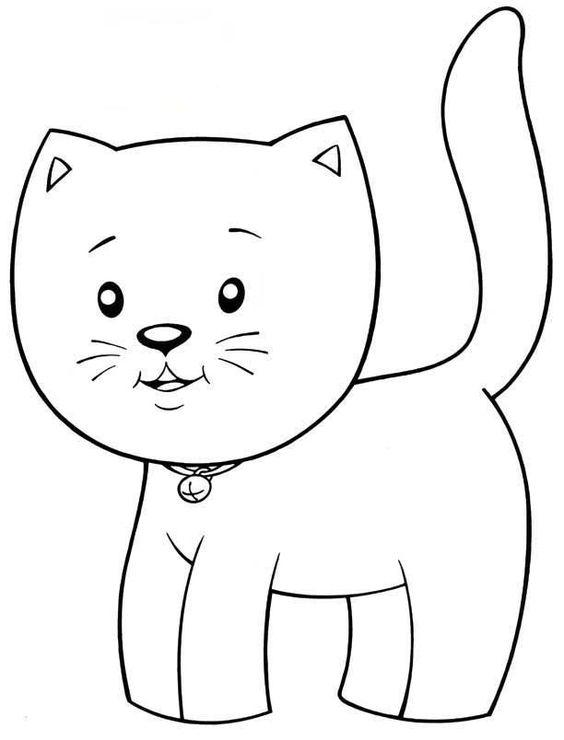 Desenhos de gatos para pintar show