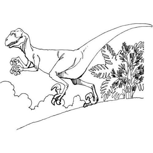 dinossauros para colorir assutador