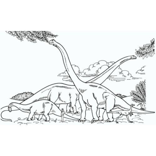 dinossauros para colorir caprichado