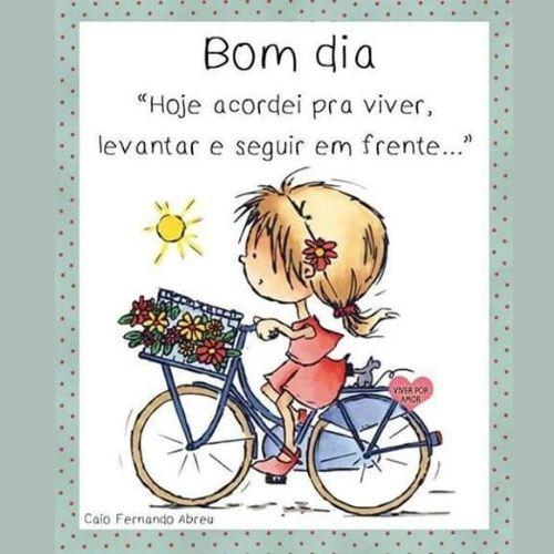 feliz domingo menina e bicicleta