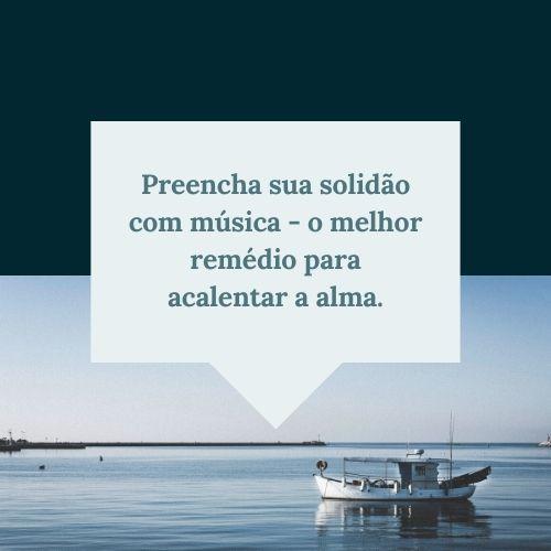 frases de solidão para refletir no mar