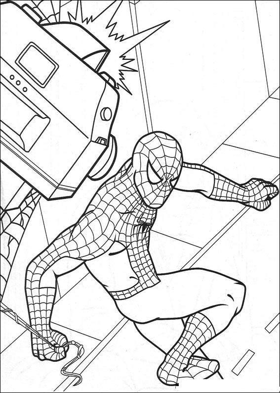 homem aranha desenho