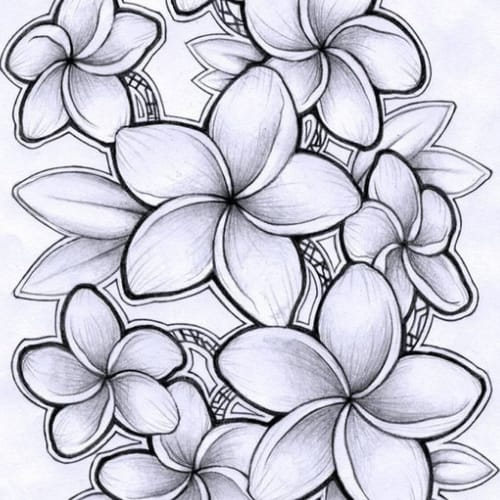 Desenho  de flor maravilhoso para colorir e imprimir