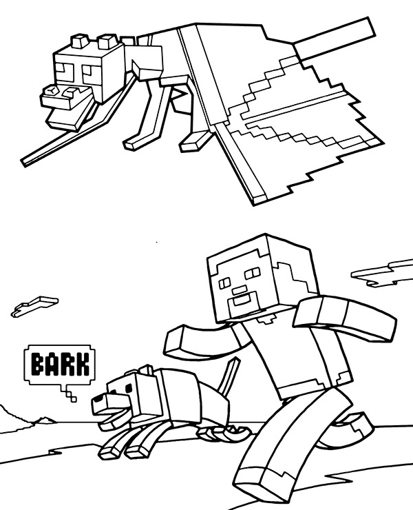 desenhos  Minecraft top