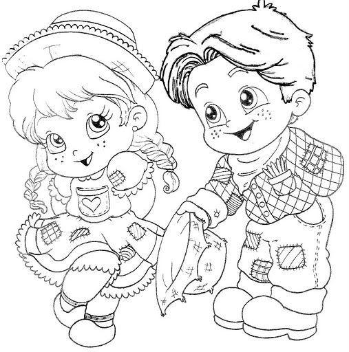 Desenhos de festa junina para colorir fabuloso