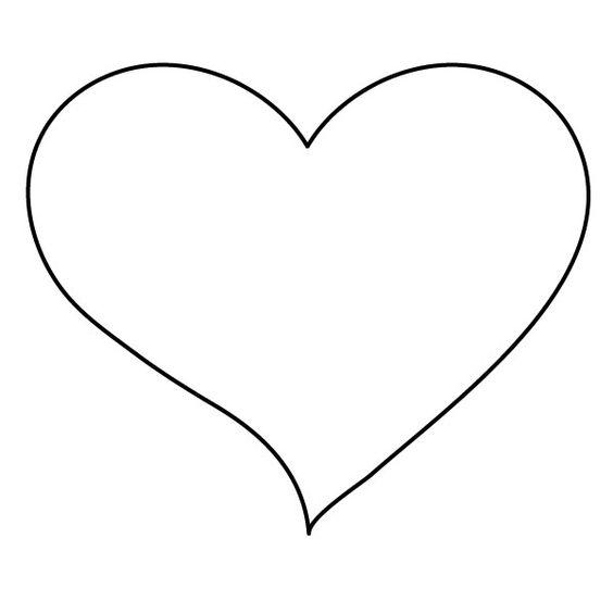 Desenhos de coração para colorir fabuloso
