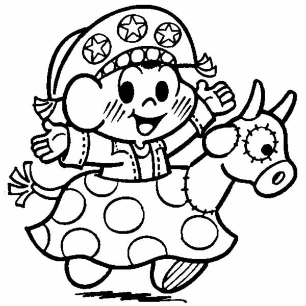 Desenhos de festa junina para colorir divertido
