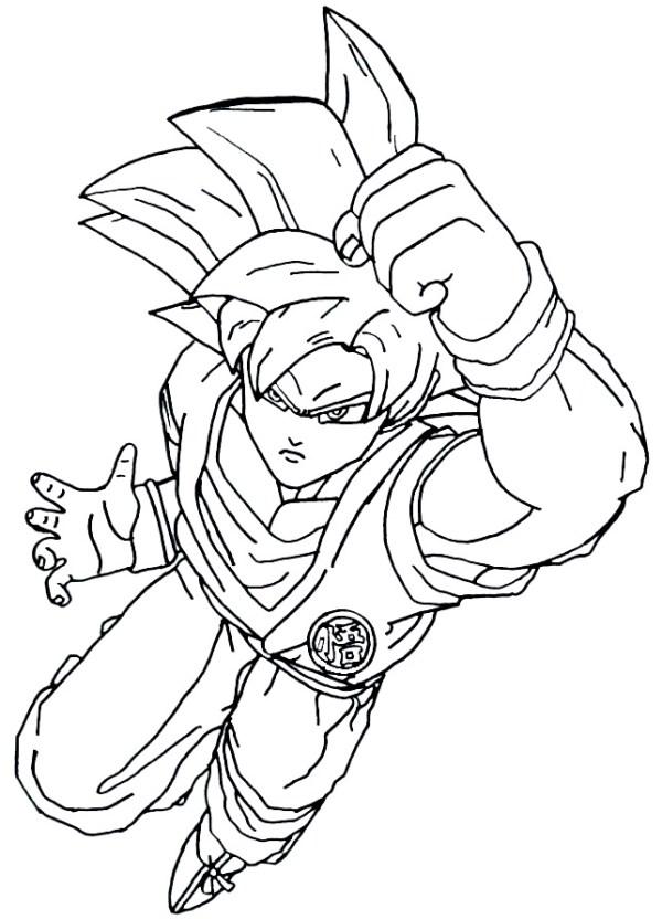 Desenhos do Goku legal