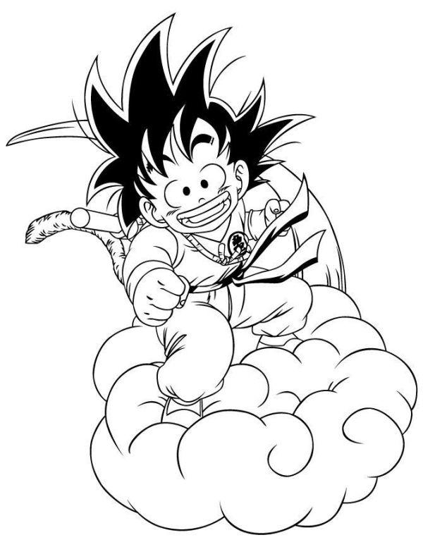Desenhos do Goku lindo