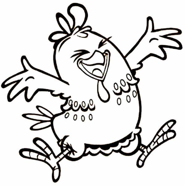 Desenhos galinha pintadinha para colorir lindos