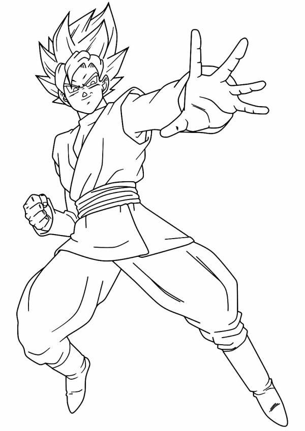 Desenhos do Goku murrão