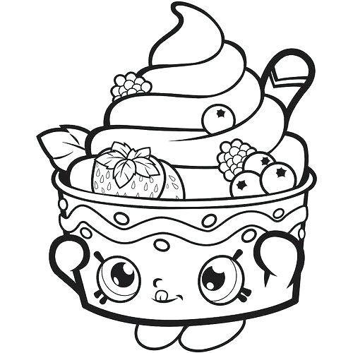 Desenho doce kawaii