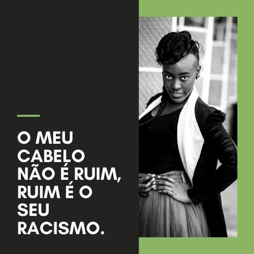 frases contra o racismo bom censo