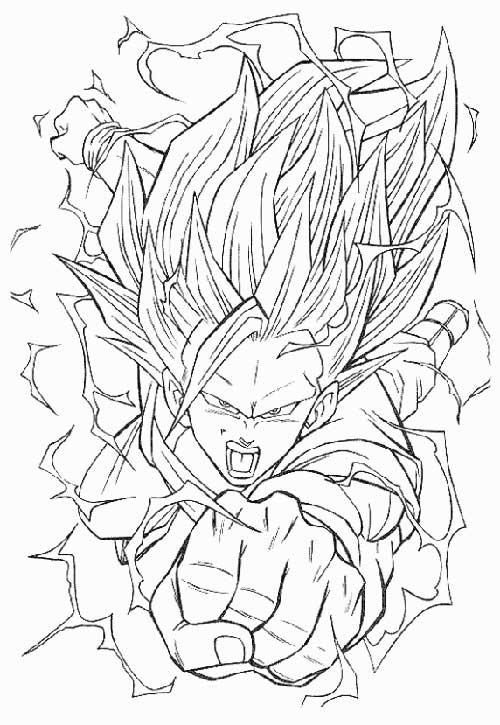 Desenhos do Goku maravilhoso