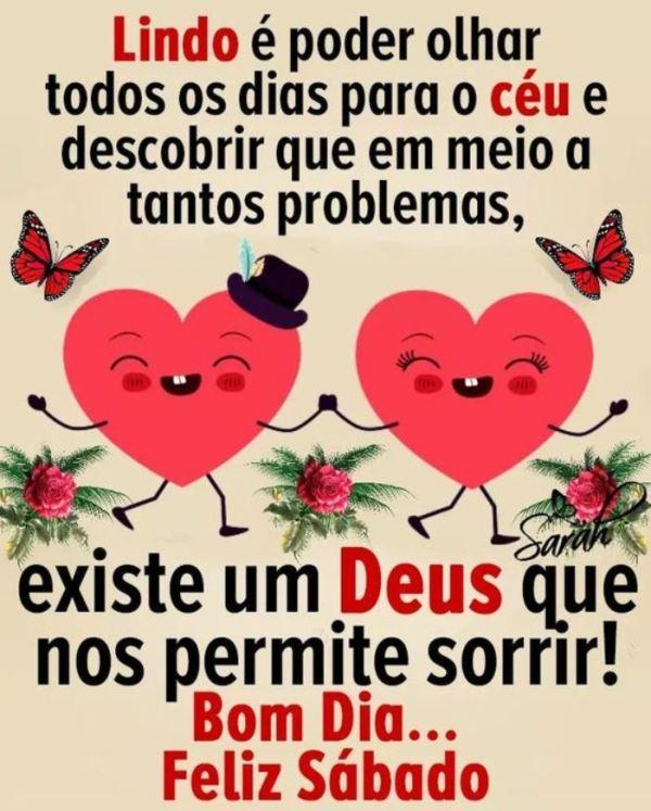 Bom dia feliz sábado com Deus