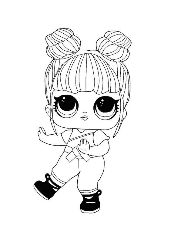 Desenho Boneca lol