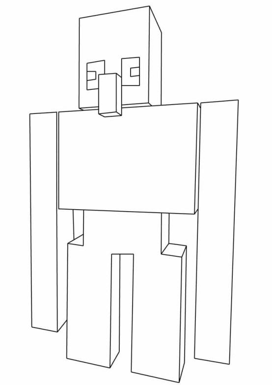 desenhos  Minecraft alto
