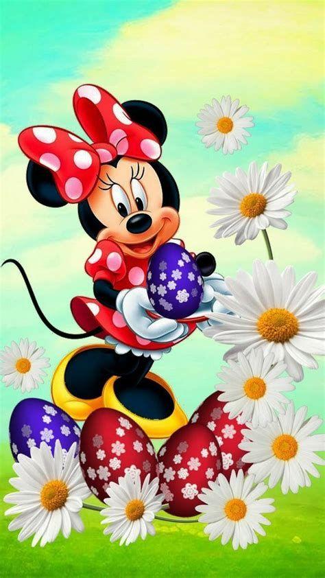 Minnie mouse na pascoa