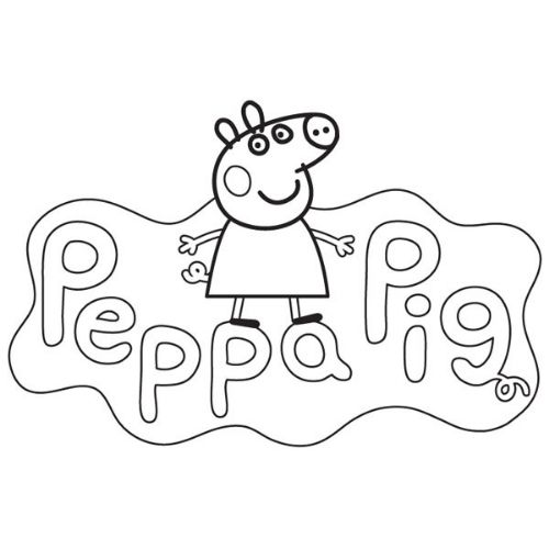 peppa pig para colorir brincando