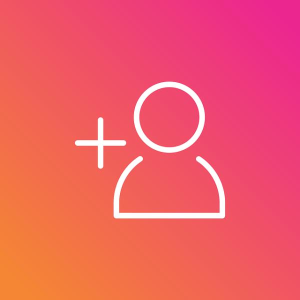Icon seguidores no Instagram