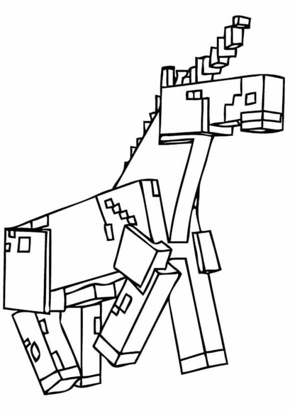 desenhos  Minecraft animal