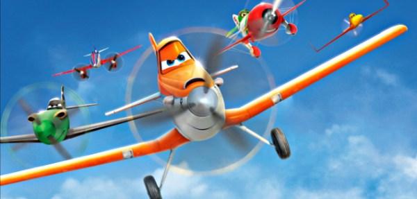Em aviões, Dusty é um avião com medo de altura