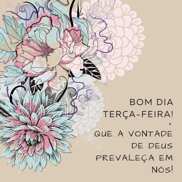 alegre bom dia terça feira florido