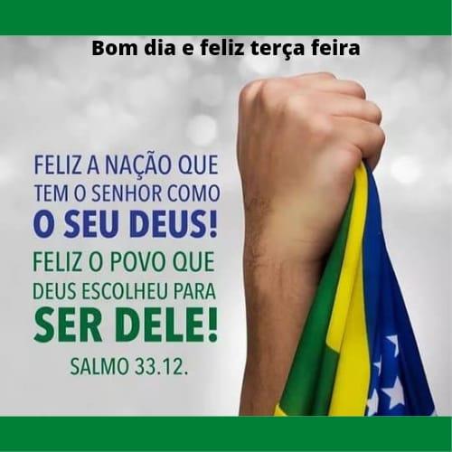 Feliz dia do povo brasileiro