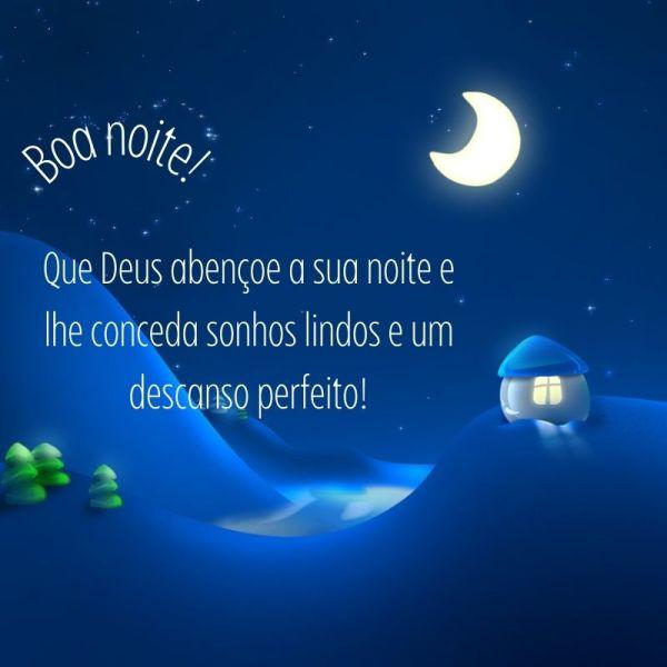 boa noite controlada por Deus