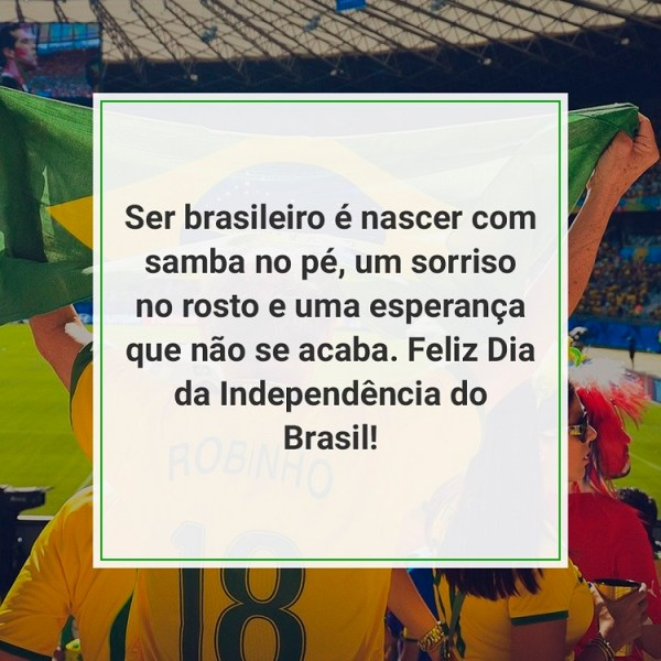 feliz dia da independência do brasil