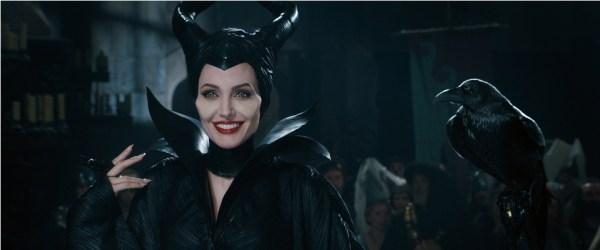 Angelina Jolie no seu famoso papel de Malévola
