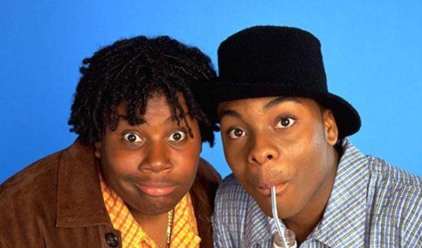 Kenan e Kel foi uma série exibida pela Nickelodeon